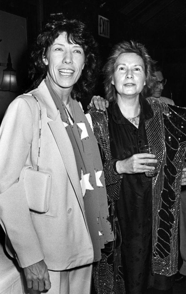 Lily Tomlin and Jane Wagner, 1986 | Ron Galella/WireImage