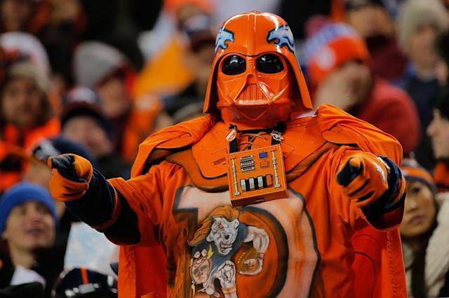 When the NFL meets Star Wars, amazing things happen. (Getty)