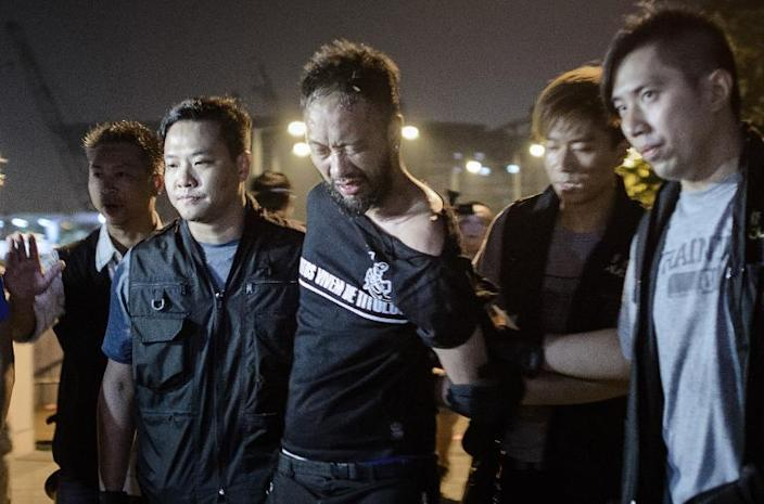 Outraged Hong Kong police officers condemn court verdict
