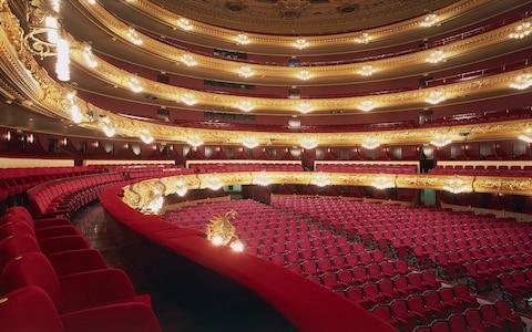 Gran Teatre del Liceu - Credit: This content is subject to copyright./De Agostini / S. Vannini