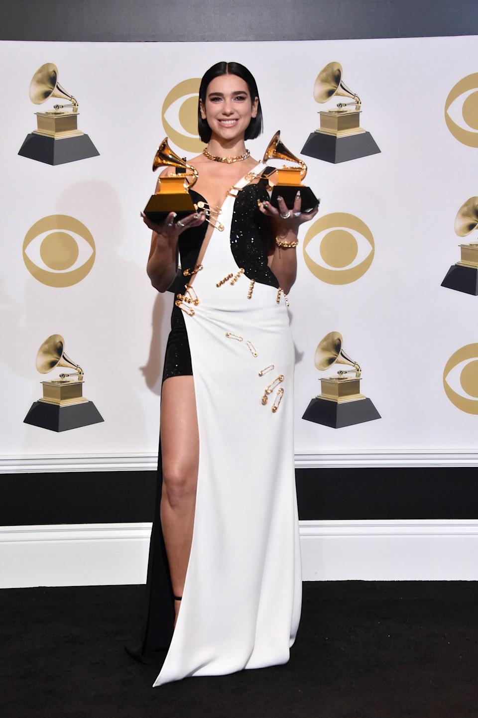 at the 61st Annual Grammy Awards