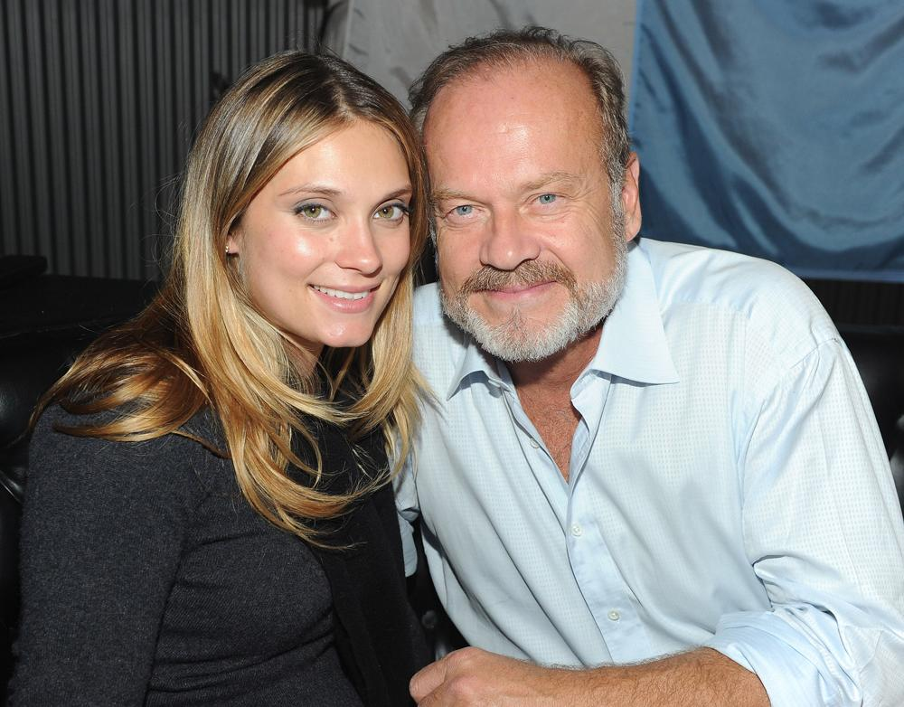 "Actress Spencer Grammer (L) and actor Kelsey Grammer attend the after party for the STARZ Los Angeles Premiere Event for Original Series ""Boss"" Starring Kelsey Grammer at the Arclight Theatres on October 6, 2011 in Hollywood, California.  (Photo by Michael Buckner/Getty Images For STARZ)"