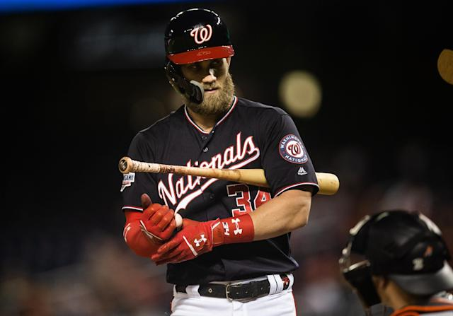 Did California state taxes ultimately play a role in Bryce Harper signing with the Phillies? (Getty)
