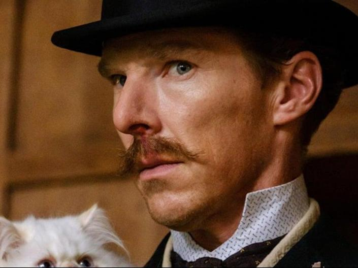 Cumberbatch as a repressed Victorian inventor and artist in 'The Electrical Life of Louis Wain' (StudioCanal UK)