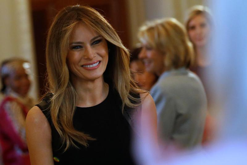 Why Melania Trump Likely Won't Be Guzzling 'First Lady' Wine