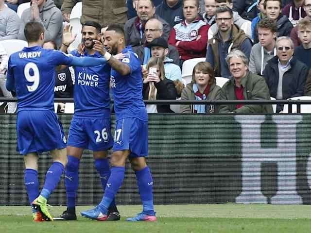 Mahrez put Leicester in front (Getty)