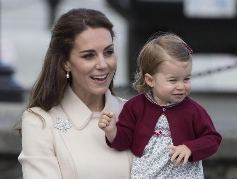 Princess Charlotte's mother, Kate Middleton, has given birth to the third royal baby. Photo: Getty Images