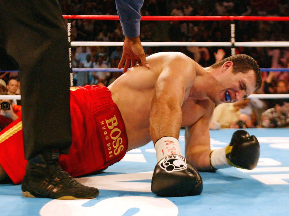 Klitschko has lost four times in his 68-fight professional career: Bongarts/Getty