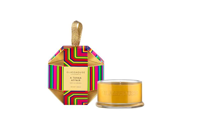 Glasshouse Fragrances A Tahaa Affair Candle Christmas Bauble - $14.95