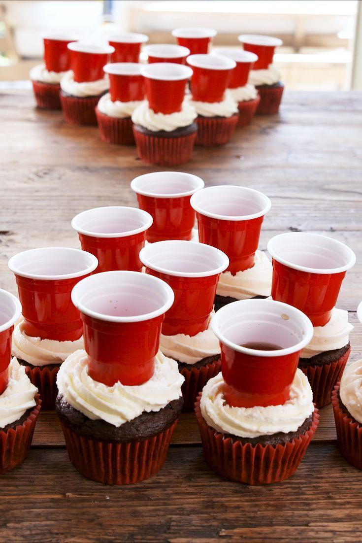 "<p>Meet the crazy cupcake literally every holiday party has been missing.</p><p>Get the recipe from <a href=""https://www.delish.com/cooking/recipe-ideas/a28207804/beer-pong-cupcakes-recipe/"" rel=""nofollow noopener"" target=""_blank"" data-ylk=""slk:Delish"" class=""link rapid-noclick-resp"">Delish</a>.</p>"