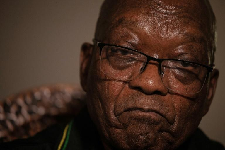 Zuma retains a hard-core following even though his nine-year presidency was tainted by corruption scandals