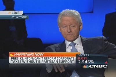 Clinton: Profits won't be priority No. 1 in future