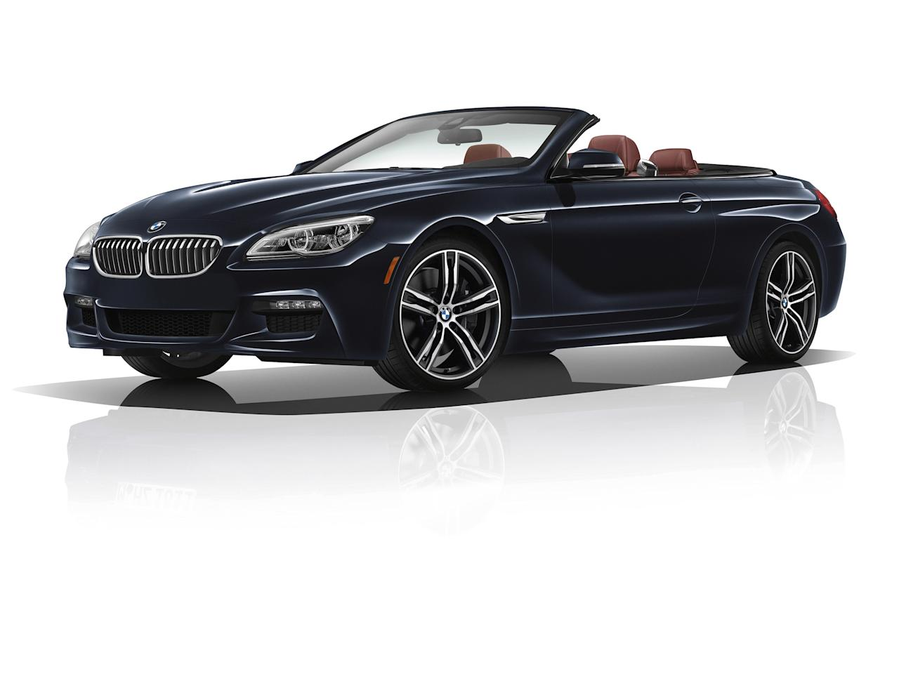 <p>With a soft-top that opens in under 20 seconds, there's always time to enjoy the sun on your face and the wind in your hair behind the wheel of BMW's latest 6 Series convertible. This Ultimate Driving Machine combines power and beauty so elegantly.</p>
