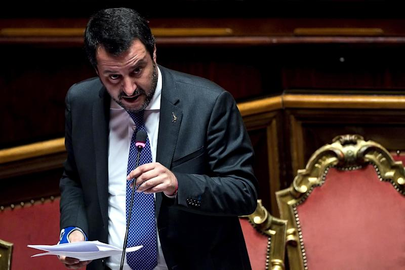 Matteo Salvini, ministro del Interior de Italia y gran defensor del discurso anti establishment (EFE/ Angelo Carconi).