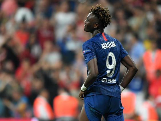 The Chelsea forward was last week subject to online racist abuse after missing a penalty in the Super Cup final (Getty)