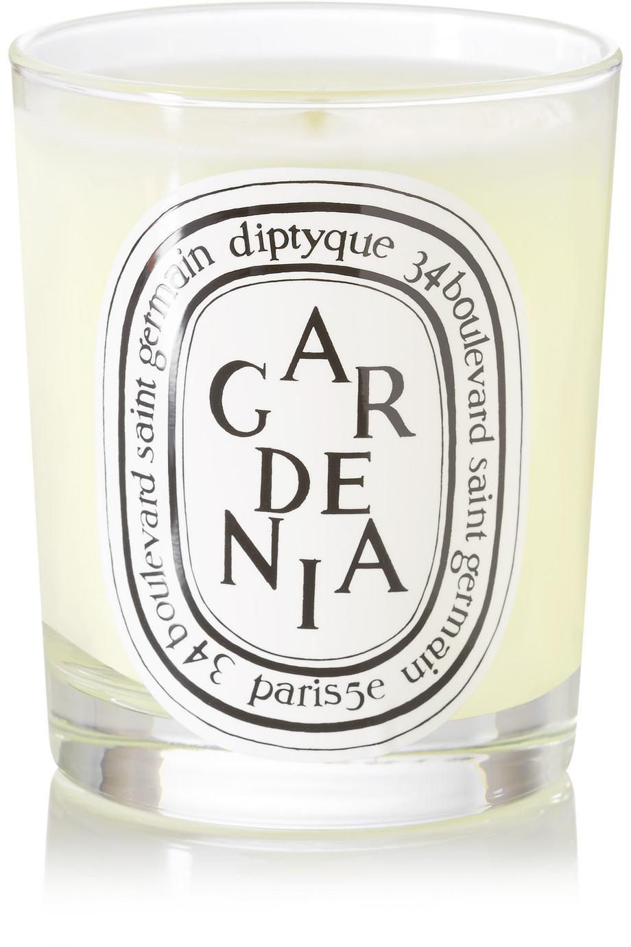 """<h2>Diptyque Gardenia Candle</h2><br>If anyone deserves a relaxing candlelit night in, it's your mom. Give her the gift of premium aromatherapy by adding to her candle collection with a heavenly scented votive like this Diptyque one.<br><br><strong>Diptyque</strong> Gardenia Scented Candle, 190g, $, available at <a href=""""https://go.skimresources.com/?id=30283X879131&url=https%3A%2F%2Fwww.net-a-porter.com%2Fus%2Fen%2Fproduct%2F658538%3F"""" rel=""""nofollow noopener"""" target=""""_blank"""" data-ylk=""""slk:Net-A-Porter"""" class=""""link rapid-noclick-resp"""">Net-A-Porter</a><span class=""""copyright"""">Photo Courtesy of Net-a-Porter.</span>"""