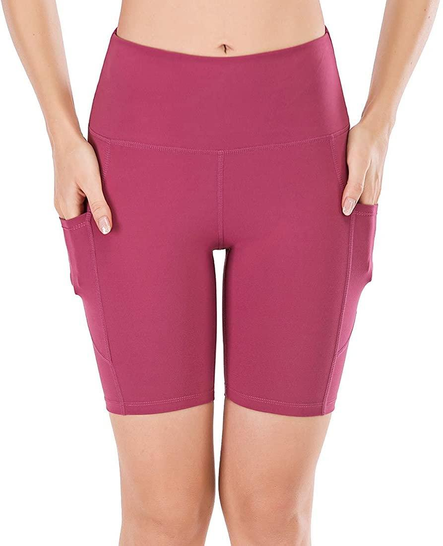 """<h3>High-Waist Bike Shorts</h3><br>This top-purchased pair of high-waisted bike shorts come complete with not two but three pockets, an assortment of rich colorways (from this fall-perfect berry to a bright amber yellow), and a Prime Day deal of 29% off. <br><br><strong>4.5 out of 5 stars and 1,379 reviews</strong> <br><br><strong>Lianshp</strong> High Waist Yoga Shorts With 3 Pockets, 8"""" in Coral, $, available at <a href=""""https://amzn.to/374Lam0"""" rel=""""nofollow noopener"""" target=""""_blank"""" data-ylk=""""slk:Amazon"""" class=""""link rapid-noclick-resp"""">Amazon</a>"""
