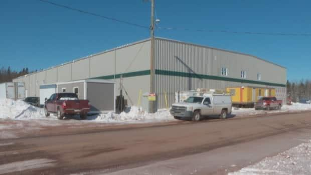 The exterior work has nearly been done on Tyne Valley's new rink and wellness centre, and plumbing and electrical work are due to start this week.