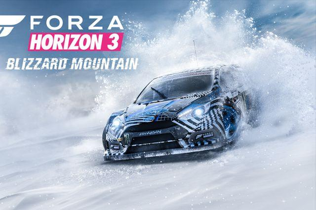 forza horizon gears up for winter with blizzard mountain dlc forzablizzard