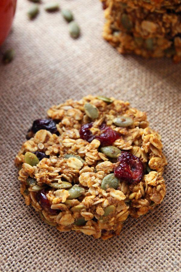 """<p>Cookies for breakfast = so much yes.</p><p>Get the recipe from <a href=""""https://leelalicious.com/pumpkin-breakfast-cookies/"""" rel=""""nofollow noopener"""" target=""""_blank"""" data-ylk=""""slk:Leelalicious"""" class=""""link rapid-noclick-resp"""">Leelalicious</a>.</p>"""