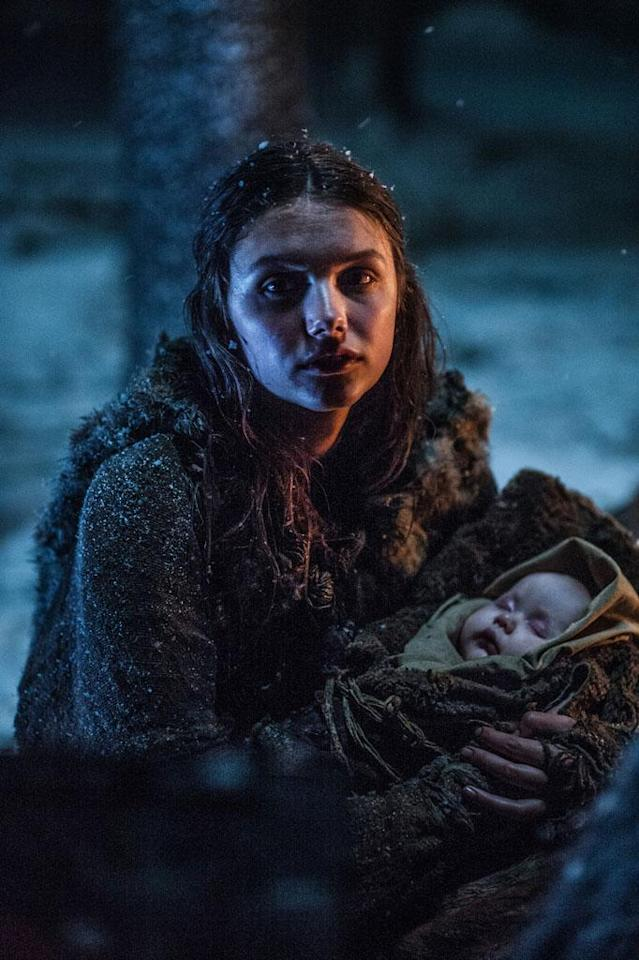 """Hannah Murray in the """"Game of Thrones"""" Season 3 episode, """"The Climb."""""""