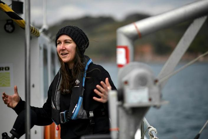 IBM emerging technologies specialist Rosie Lickorish: 'Having a ship without people on board allows scientists to expand the area they can observe'
