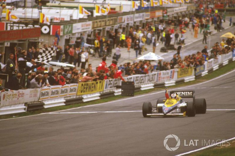 "Nigel Mansell - 31 vitórias<span class=""copyright"">LAT Images</span>"