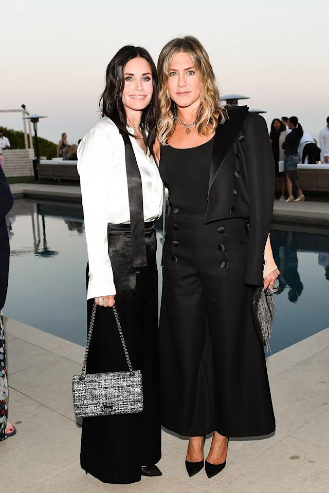 """Aniston was on a private jet <a href=""""https://people.com/movies/jennifer-aniston-lands-mexico-after-plane-emergency-landing/"""">heading to Mexico</a> with her pals (including Courteney Cox) when they were forced to turn around due to problems with the plane's landing gear.  Aniston recounted the scary story, telling her friend Ellen DeGeneres, """"We had to fly around for like 6 hours to dump the fuel, which still wasn't occurring to me this might be because if we land badly, it will explode.""""  All's well that ended well, though, and Aniston managed to get herself and her friends to Mexico the next day. What a wild start to her 50th year!"""