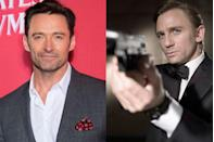 "<p>Jackman <a href=""http://variety.com/2017/film/features/hugh-jackman-the-greatest-showman-logan-1202629864/"" rel=""nofollow noopener"" target=""_blank"" data-ylk=""slk:told Variety"" class=""link rapid-noclick-resp"">told <em>Variety</em></a> that when the search was on for a new James Bond to follow Pierce Brosnan in <em>Casino Royal</em>e, a call came asking if he'd be interested. He wasn't. ""I just felt at the time that the scripts had become so unbelievable and crazy, and I felt like they needed to become grittier and real,"" he said. ""And the response was: 'Oh, you don't get a say. You just have to sign on.' I was also worried that between <em>Bond</em> and <em>X-Men</em>, I'd never have time to do different things.""</p>"