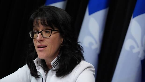 'A referendum in 2022 is no longer on the table,' Sonia LeBel, the minister in charge of electoral reform, said Wednesday.