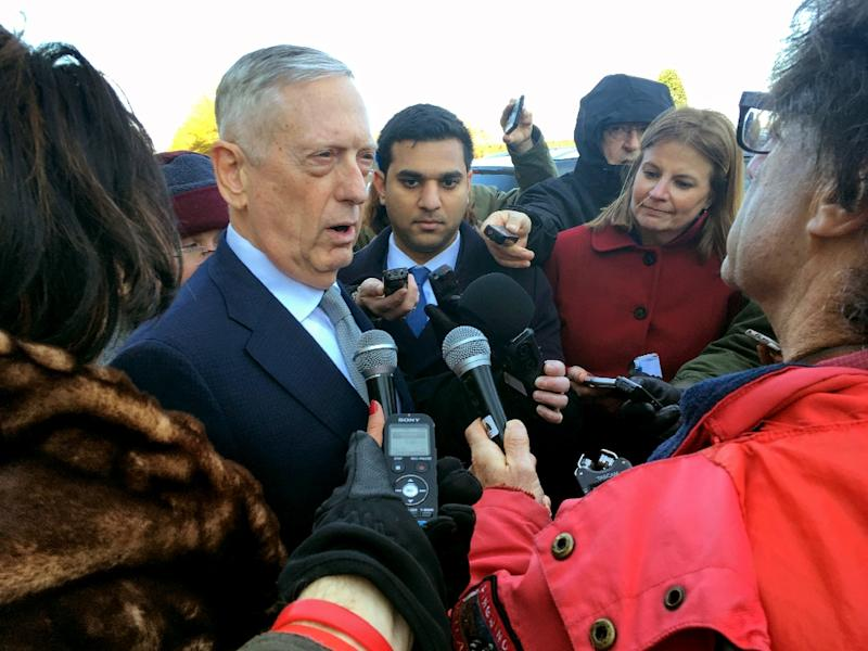 US Defense Secretary Jim Mattis tells Pentagon reporters he has seen 'no smoking gun' tying the Saudi crown prince to Khashoggi's killing (AFP Photo/Thomas WATKINS)