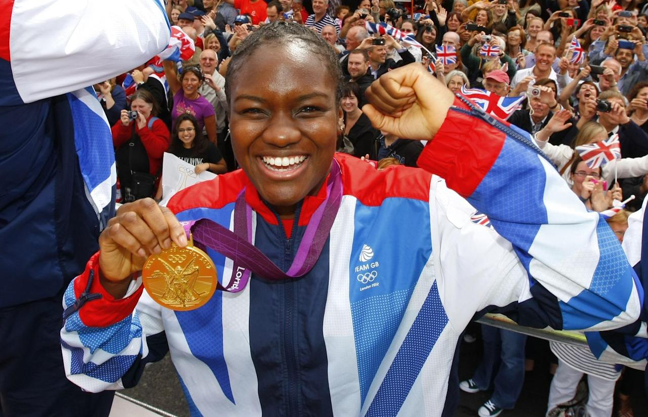"""<p>One of Britain's most treasured national treasures, Adams gained global fame as the first female boxer to become an Olympic Champion in 2012. After that, Adams doubled down, winning a second gold medal at Rio 2016. At one point, she was reigning Olympic, World and European Games champion at flyweight. Woah.</p><p>Retiring with an undefeated record the 37-year old won the Sports Personality Award at the British LGBT Awards in 2019. Recently, she shared with WH her home fitness routine and <a href=""""https://www.youtube.com/watch?v=5KClWZCd9w8&ab_channel=Women%27sHealthUK"""" target=""""_blank"""">how she deals with the discrimination</a> she faces as a Black, gay woman.</p>"""