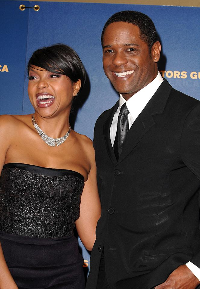 """<a href=""""http://movies.yahoo.com/movie/contributor/1804514499"""">Taraji P. Henson</a> and <a href=""""http://movies.yahoo.com/movie/contributor/1800086024"""">Blair Underwood</a> at the 61st Annual Directors Guild of America Awards in Los Angeles - 01/31/2009"""