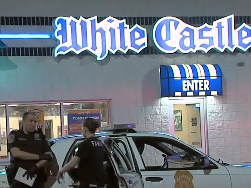 The brawl happened outside a White Castle restaurant in May: RTV6 The Indy Channel