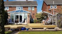<p>It's now the ultimate space for alfresco dining. </p>