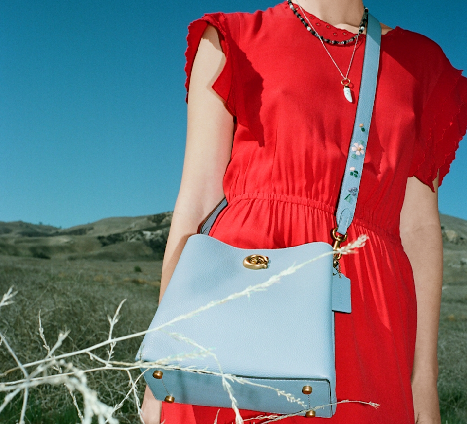 The Coach summer sale is filled with deals up to 50% off. Image via Coach.