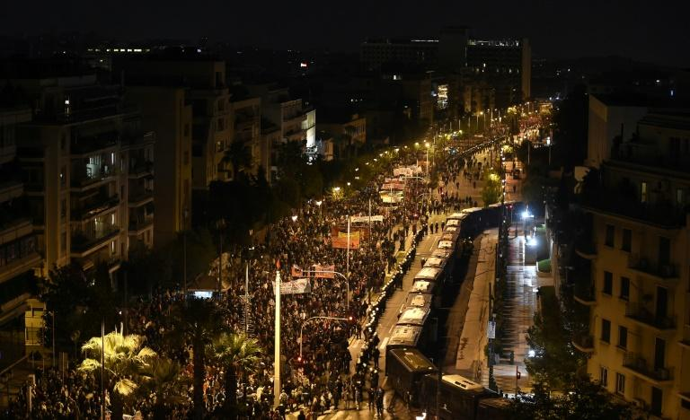 The anti-junta demonstration is a treasured anniversary for many Greeks