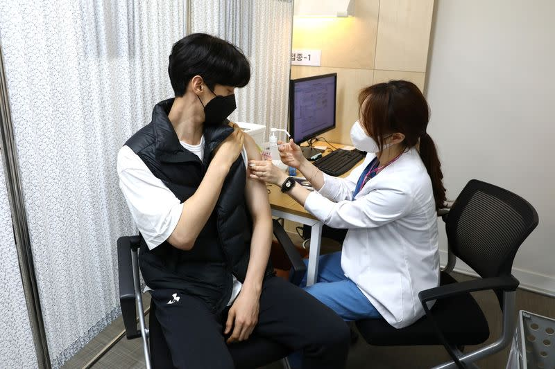 South Korean athletes get Pfizer's COVID-19 vaccine ahead of Tokyo Olympics