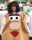 """<p>Make this cute DIY costume even simpler by attaching felt to a tan-colored dress. </p><p><a class=""""link rapid-noclick-resp"""" href=""""https://www.instagram.com/p/Baw9if8gVwQ/"""" rel=""""nofollow noopener"""" target=""""_blank"""" data-ylk=""""slk:SEE MORE"""">SEE MORE</a></p><p><a class=""""link rapid-noclick-resp"""" href=""""https://www.amazon.com/Afibi-Pockets-T-Shirt-Dresses-X-Large/dp/B0778QFGPV?tag=syn-yahoo-20&ascsubtag=%5Bartid%7C10072.g.33547559%5Bsrc%7Cyahoo-us"""" rel=""""nofollow noopener"""" target=""""_blank"""" data-ylk=""""slk:SHOP DRESS"""">SHOP DRESS</a></p>"""