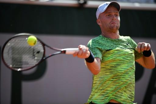 Jurgen Zopp stunned 14th seed Jack Sock to reach round two for the second time