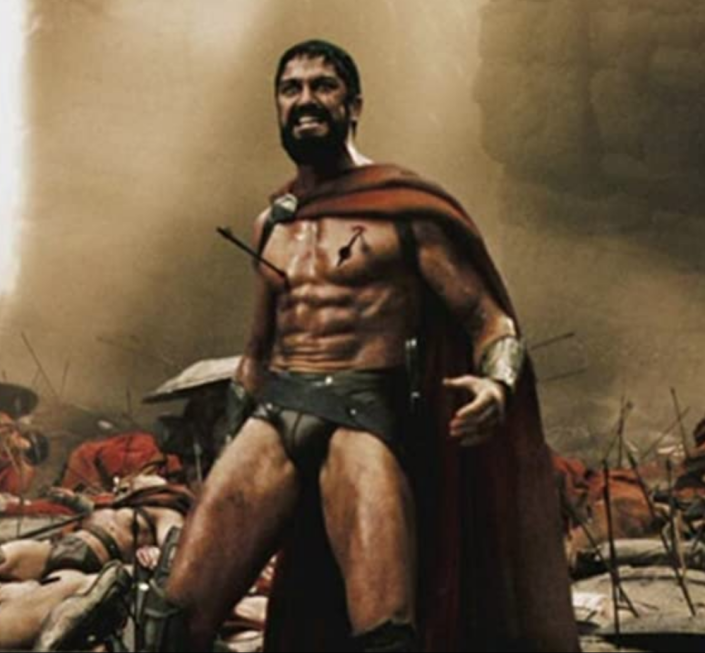 "<p>In order to play a Spartan warrior in <em>300,</em> Gerard Butler had to gain weight and added <a href=""https://www.popworkouts.com/gerard-butler-300-workout/4/#:~:text=Gerard%20Butler%20measures%206'2,91kg)%20for%20%E2%80%9C300.%E2%80%9D"" rel=""nofollow noopener"" target=""_blank"" data-ylk=""slk:more than 10 lbs"" class=""link rapid-noclick-resp"">more than 10 lbs</a> of pure muscle to his frame. ""I was [working out] six hours a day: two hours with [stuntmen], two hours doing the <em>300</em> work-out, two hours with my own bodybuilder… pumping 25 times before each take. But I was also surrounded by a lot of guys putting in a lot of effort,"" Butler told <a href=""https://www.gq-magazine.co.uk/article/gerard-butler-300-workout"" rel=""nofollow noopener"" target=""_blank"" data-ylk=""slk:GQ UK"" class=""link rapid-noclick-resp"">GQ UK</a>. ""It was great having that unity of purpose both as an army and in terms of what we were trying to make in this movie and in terms of fitness, training and that warrior spirit. It was a very powerful place to be."" </p>"