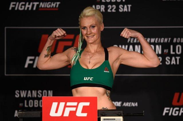 Cindy Dandois fights in the UFC, teaches high school in Belgium and finds inspiration from Walt Disney. (Getty Images)