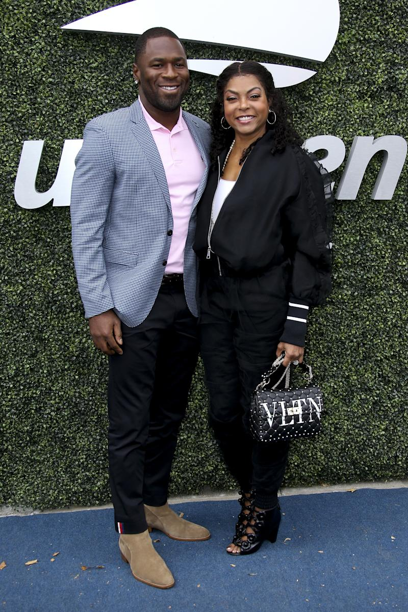 "Taraji P. Henson got engaged to the former NFL player Kelvin Hayden in May of 2018, whose proposal apparently made her cry so hard that her ""lashes ended up on the floor."""