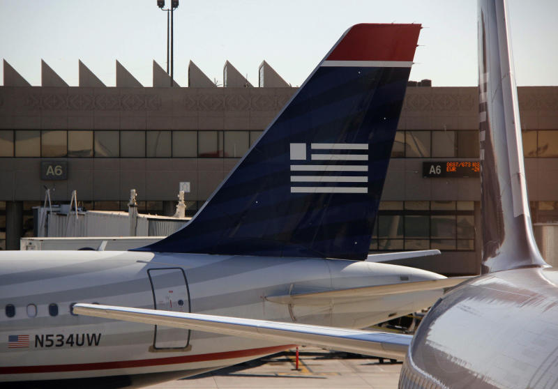 Full planes help boost US Airways 1Q results