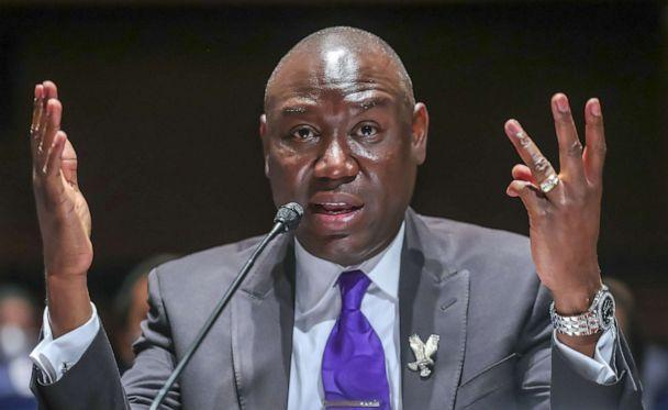PHOTO: Civil rights attorney Benjamin Crump speaks during the House Judiciary Committee hearing on Policing Practices and Law Enforcement Accountability at the U.S. Capitol, June 10, 2020, in Washington, D.C. (Michael Reynolds/Pool via Getty Images)