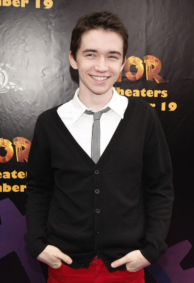 """<a href=""""http://movies.yahoo.com/movie/contributor/1800019378"""">Liam Aiken</a> at the Los Angeles Premiere of <a href=""""http://movies.yahoo.com/movie/1809860414/info"""">Igor</a> - 09/13/2008"""