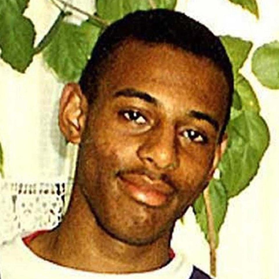 18-year-old Stephen Lawrence was fatally stabbed by a gang of racists in Eltham, south-east London, on April 22 1993 (PA)