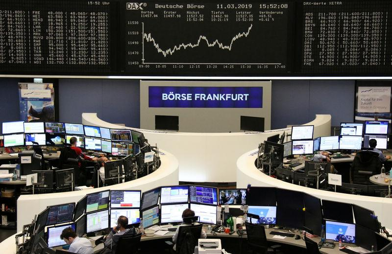 Global Markets: Stocks rise on tame inflation outlook, dollar eases