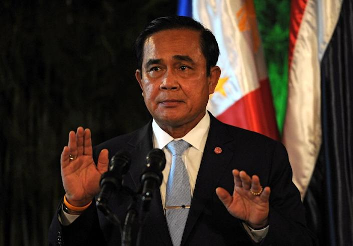 Prime Minister Prayut Chan-O-Cha, pictured on August 28, 2015, has vowed to end Thailand's long history of expensive rural subsidies (AFP Photo/Ted Aljibe)