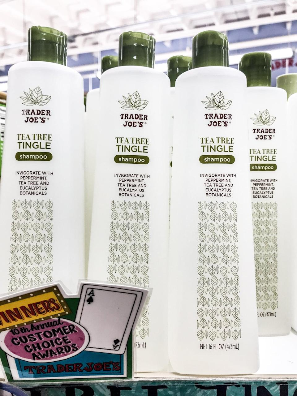 <p>Your shampoo needs a match, obviously. Condition those locks with the tingling combo of natural elements, also for under $5.</p>